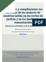 Informe Monitoreo Los Dd de Las Mujeres