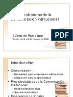 Principios Bsico de La Comunicacin Institucional-resumen