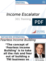 Income Escalator - Residual Income System