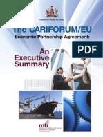 The CF-EC - Economic Partnership Agreement (EPA) - An Executive Summary [MTI Trinidad & Tobago]