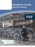 The Canadian Institute for Environmental Law and Policy - Green Economy for Canada