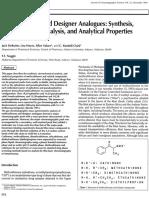 Methcathinone.analog.analysis