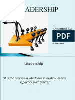 Leader Ship Presentation
