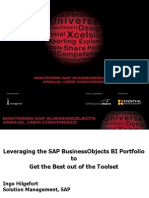 •Mastering SAP BusinessObjects 2010 - Best Practices with BusinessObjects
