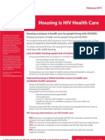 Housing is HIV Health Care