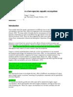 Coppar Toxicity Report