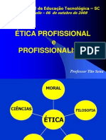 Etica Profissional E Profissionalismo