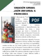 Diptico Paso de Infantil a Primaria