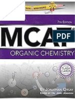 MCAT Organic Chemistry