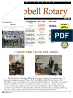 Rotary Newsletter May 17 2011