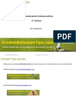 Cricket Battingt