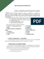 Metode Didactice Interactive