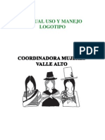 Manual Uso y Manejo Logotipo Institucional Comuva