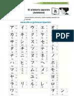 Katakana Spanish