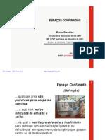 NBR 14787 - ESPAÇO CONFINDO (CALIBRAÇÃO DE EQUIPAMENTOS)