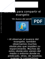 Barreras Para Compartir El Evangelio