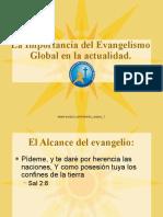 La importancia del evangelismo en la actualidad