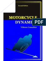 Motorcycle Dynamics by Vittore Cossalter