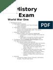 Global Studies Semester Two Exam Review