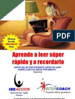 TALLER DE LECTURA SÚPER RÁPIDA
