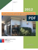 Proyecto Presupuesto año 2012 Región del Maule