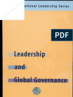 Leadership and Global Governance- The International Leadership Series (Book Two Yazar- Adel Safty