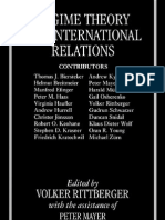 Regime Theory and International Relations Yazar- Volker Rittberger-Peter Mayer