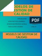 MODELOS DE GESTIÓN DE CALIDAD FINAL