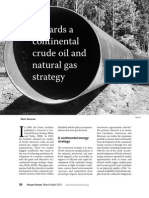 Towards a Continental Crude Oil Natural Gas Strategy