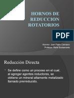 Hornos de Reduccion Rotatorios