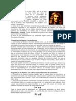 Avances en Cosmografa Las Leyes de Newton