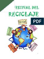 Proyecto El Festival Del Reciclaje