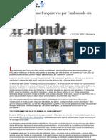 WikiLeaks _ la presse française vue par l'ambassade des Etats-Unis