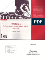 Tomas Moulian Fracturas de Pedro Aguirre a Salvador Allende 1938 1973 2006