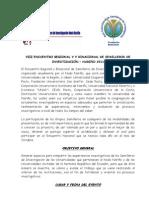 CONVOCATORIA Y PROGRAMACIÓN ENCUENTRO DE SEMILLEROS