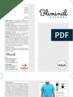 Liminal Apparel Wholesale Catalogue