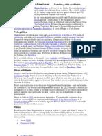 Ignacio Manuel Altamirano        Estudios y vida académica