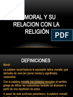 Tema 7 La Moral y Otras Actividades Humanas