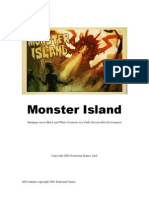 Irrational Games Monster Island Pitch