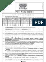 PROVA 4 - GRUPO D - NÍVEL MÉDIO II