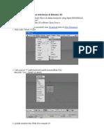 Cara Membuat Animasi Sederhana Di Blender 3D