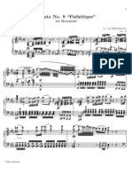 Beethoven Sonata Patetica