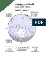 25-11-2011Partial Solar Eclipse on