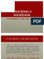 Aula Sociologia Ser Social