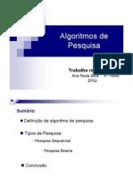 AlgoritmosPesquisa