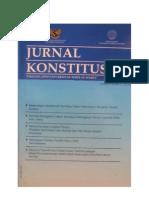 Ejurnal_Jurnal Konstitusi UNS Vol 2 No 1