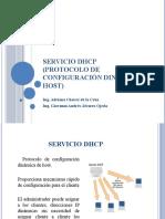 SERVICIO DHCP
