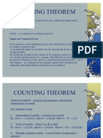 Counting Theorem and Probability