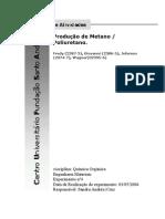 Produção de Metano