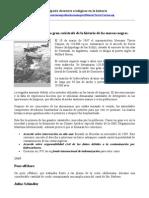 Principales desastres ecol+¦gicos en la historia hasta el 2001